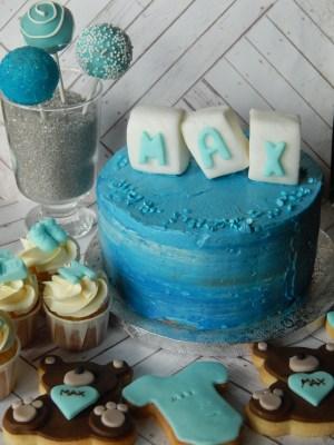 Mesa dulce - Baby shower blue 1