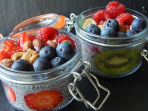 1 Chia pudding nuts & fruits 5