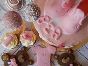 Mesa dulce - Baby shower pink 2
