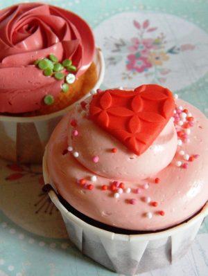 Cupcake Corazón 12