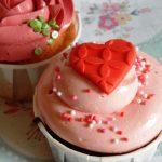 2 Cupcakes Feliz Cumpleaños 1