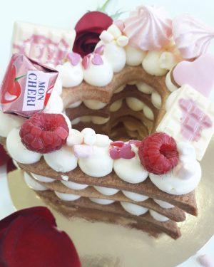 Cookie Cake corazón 12