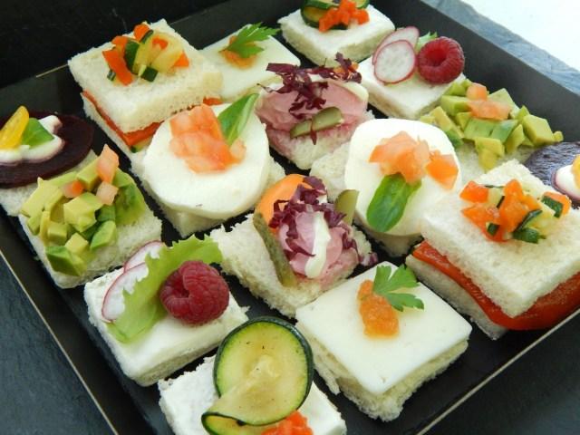 Canapés vegetarianos (16 unidades) 2