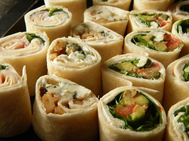 Mini rolls & wraps (18 unidades) 20