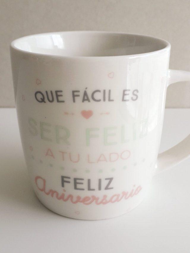 """Taza - """"Feliz Aniversario"""" 17"""