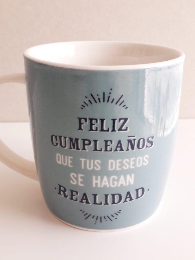 "Taza - ""Feliz Cumpleaños"" 13"