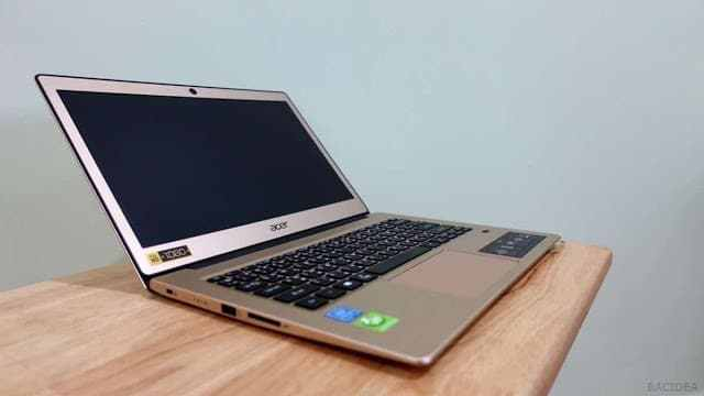 - DSC02698  2 - รีวิว Acer Swift 1 โน๊ตบุ๊คขนาดพกพา ราคาหมื่นต้นๆ ที่ได้จอ IPS และ SSD