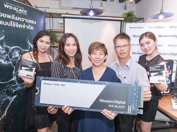 - WD Black 3D NVMe 03 2 - Western Digital WD Black 3D NVMe™ SSD ไดร์ฟประสิทธิภาพสูงสำหรับเกมมิ่งพร้อมจำหน่ายในประเทศไทย