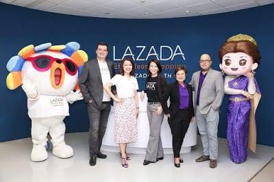 - LazadajoinhandswithSCBtoofferonlineloanstoSMEsthroughAI poweredplatform28229 1 - Lazada จับมือธนาคารไทยพาณิชย์ ปล่อยสินเชื่อแม่ค้าออนไลน์ครั้งแรกในประเทศไทย