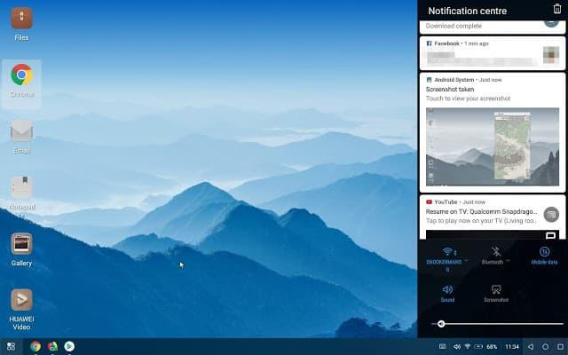 - Screenshot 20180605 113450 1 - แปลงร่าง Huawei P20/Mate 10 ให้กลายเป็นคอมพิวเตอร์ด้วย PC Mode อันแสนสะดวก