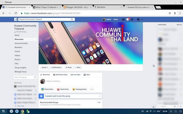 - Screenshot 20180607 095837 1 - แปลงร่าง Huawei P20/Mate 10 ให้กลายเป็นคอมพิวเตอร์ด้วย PC Mode อันแสนสะดวก