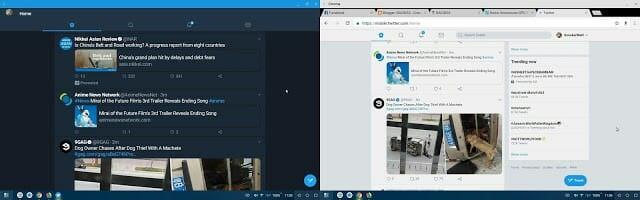 - Screenshot 20180607 110529 side 1 - แปลงร่าง Huawei P20/Mate 10 ให้กลายเป็นคอมพิวเตอร์ด้วย PC Mode อันแสนสะดวก