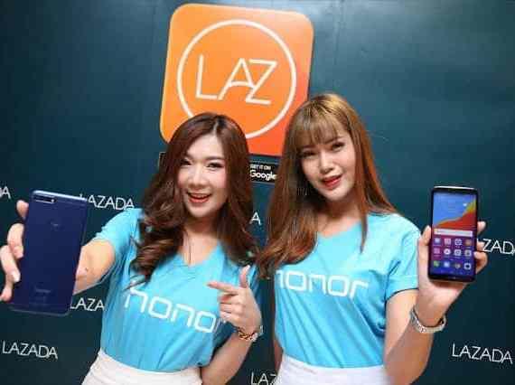 - LazadaxHonor 1 - Honor 7A ในราคาเพียง 3,990 บาทที่ Lazada วันที่ 9 กรกฎาคมนี้