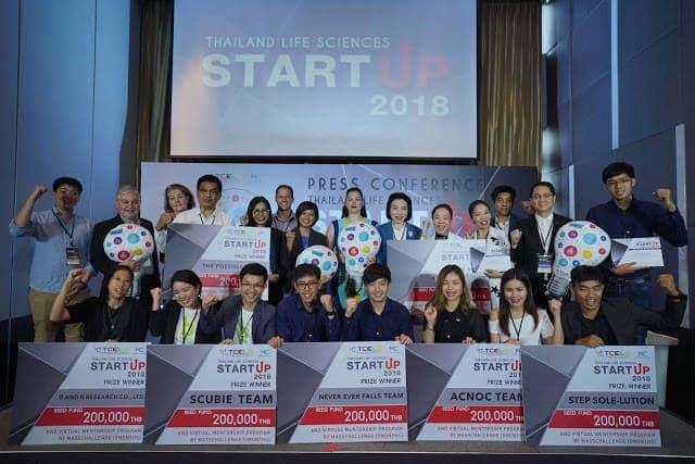 - Pic Startup 2018 E0B8A3E0B8B9E0B89BE0B8A3E0B8A7E0B8A1 1 1 - TCELS ปั้น Startup เสิร์ฟภาคอุตสาหกรรมการแพทย์และสุขภาพ ดันไทยเป็นเมดดิเคิลฮับของเอเชีย ขานรับนโยบายไทยแลนด์ 4.0