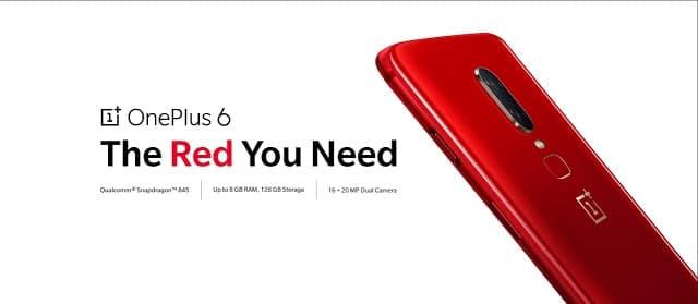 - OnePlus ปล่อย OnePlus 6 Red สีแดงสดให้ชาวไทยได้เป็นเจ้าของแล้ววันนี้