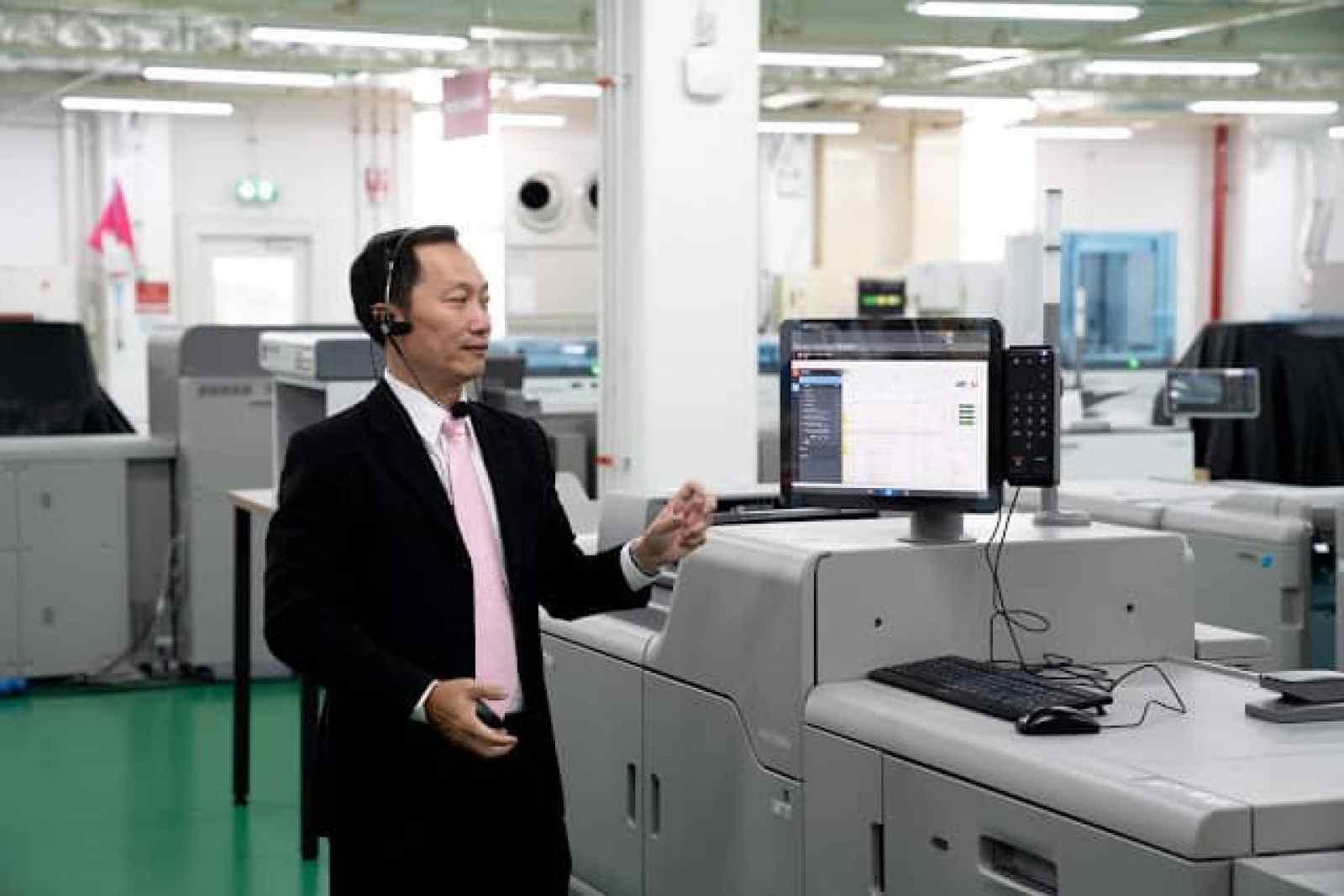 - DSC07819 2 - RICOH เปิดตัวผลิตภัณฑ์ใหม่ RICOH Pro T7210 และ RICOH Pro C7200x /C7210x ที่ RICOH Asia Pacific Customer Experience Center หรือ CEC