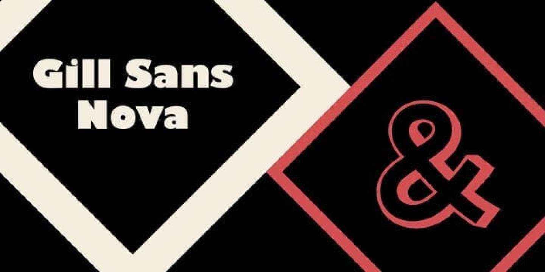 - Gill Sans Nova 2 - Adobe เพิ่มฟอนต์ตัวอักษรใหม่กว่า 600 แบบใน Creative Cloud