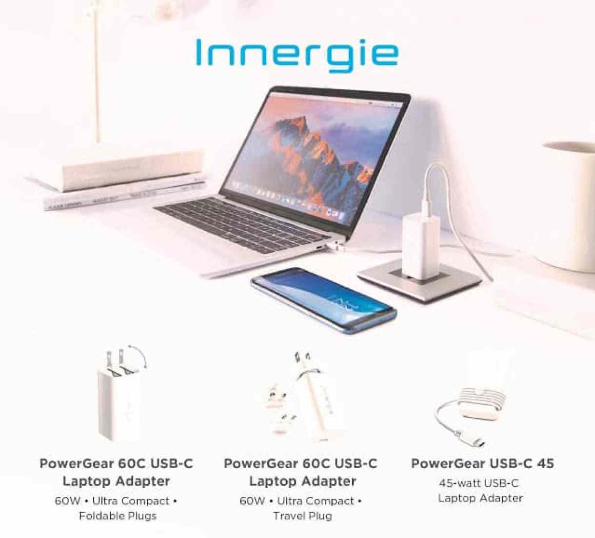 - Innergie อะแดปเตอร์ USB-C สำหรับแล็ปท็อป รุ่น PowerGear 60C ที่งาน SiS Hatyai Showcase 2018