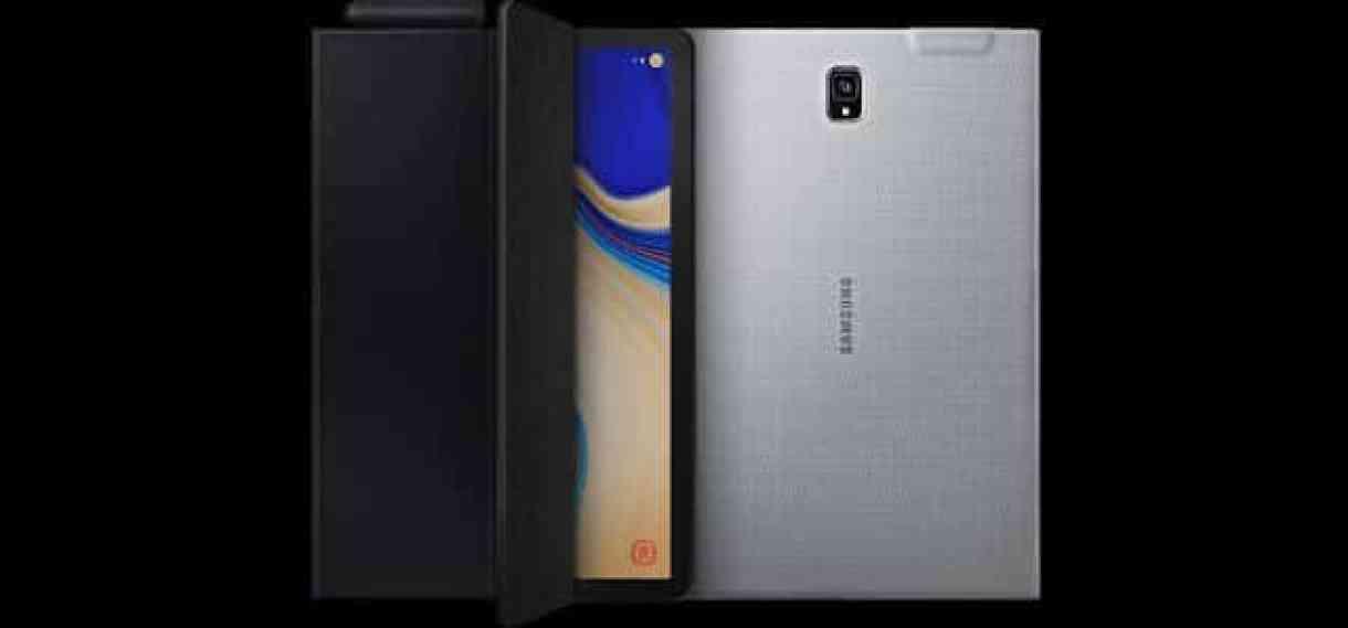 - galaxy tab s4 accessories book cover 2 - Samsung เปิดตัว Galaxy Tab S4 มีปากกา ต่อขึ้นจอได้โดยไม่ต้องใช้แท่น DeX
