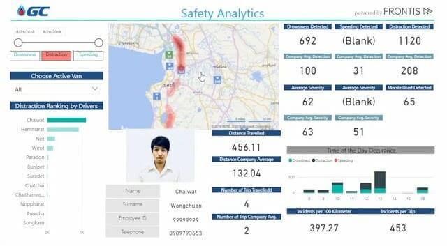 """- 3 ยักษ์ใหญ่ GC จับมือ FRONTIS และ Microsoft  เปิดตัวโครงการ """"AI for Road Safety"""" ลดอุบัติเหตุเชิงรุก ด้วยนวัตกรรม AI"""