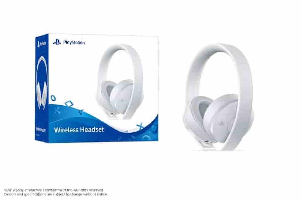 - Sony ประกาศวางจำหน่าย PlayStation4 Wireless Headset เฉดสีใหม่ สีขาว
