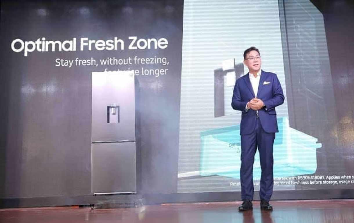 - Samsung BMF launch 01 - Samsung เปิดตัวตู้เย็นแบบช่องแช่แข็งด้านล่าง ครั้งแรกในโลกกับเทคโนโลยี Optimal Fresh Zone