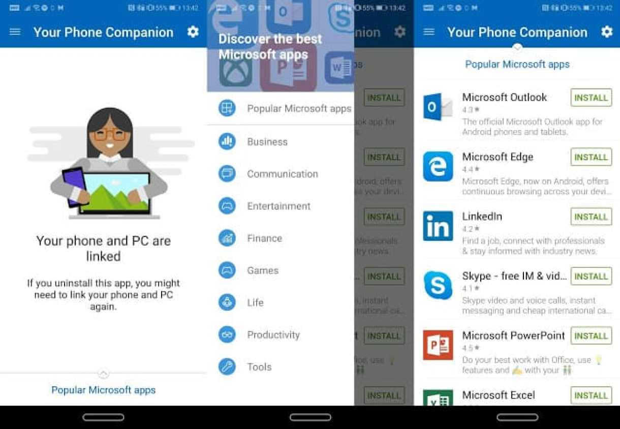- Screenshot 20181003 134222 side 2 - รีวิว Phone Mirroring ฟีเจอร์ใหม่ของ Windows 10 ที่จะมาเชื่อมมือถือกับ PC เข้าด้วยกัน