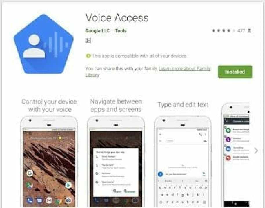 - Screenshot 7 14 - รีวิว Voice Access ควบคุม Android ด้วยเสียงแบบที่ไม่ต้องแตะมือถือเลย
