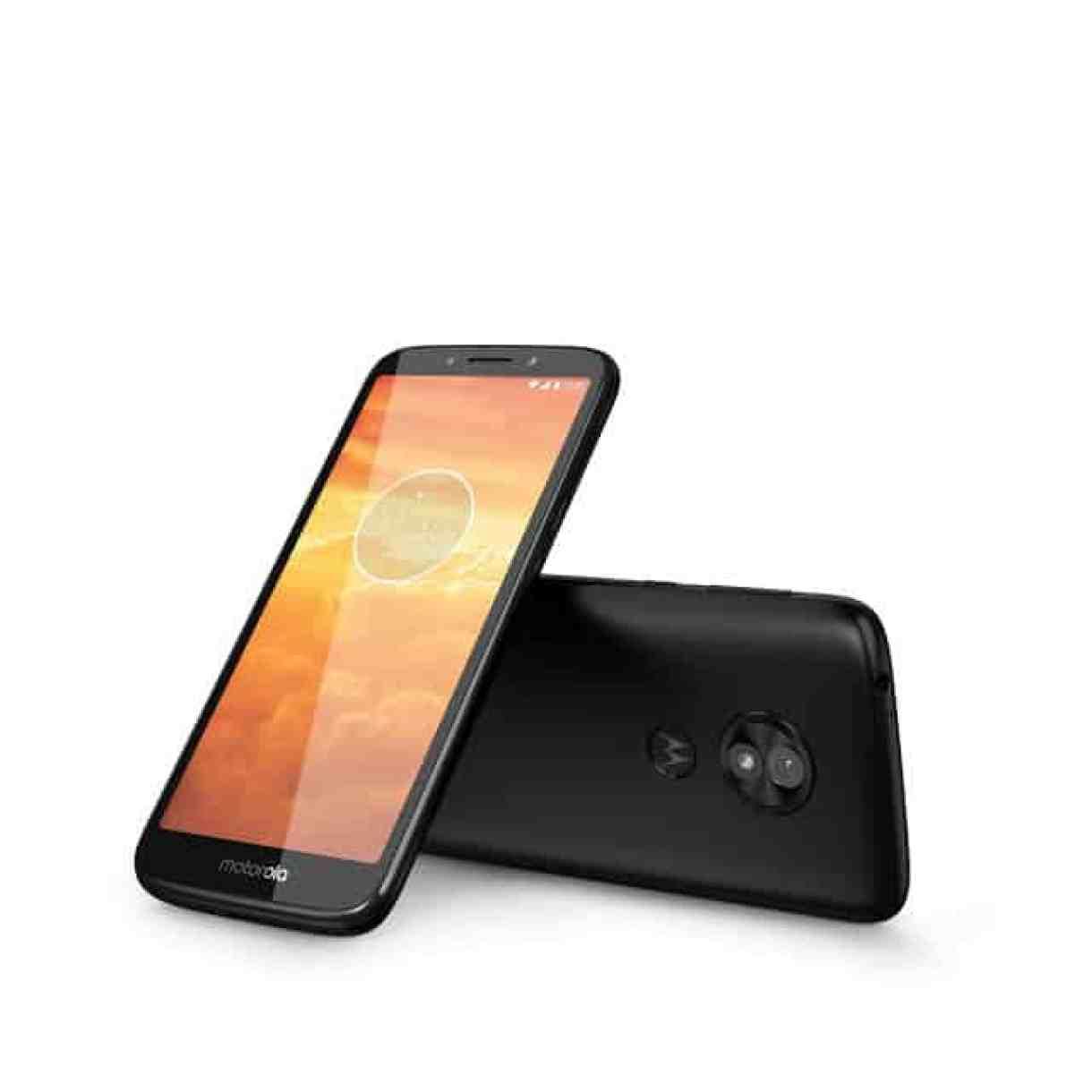 - MotoE5Play ROW Black LaydownCombo 1 - moto e5 play โทรศัพท์มือถือ Android Go จอใหญ่ มีสแกนลายนิ้วมือ ในราคาเพียง 2,888 บาท