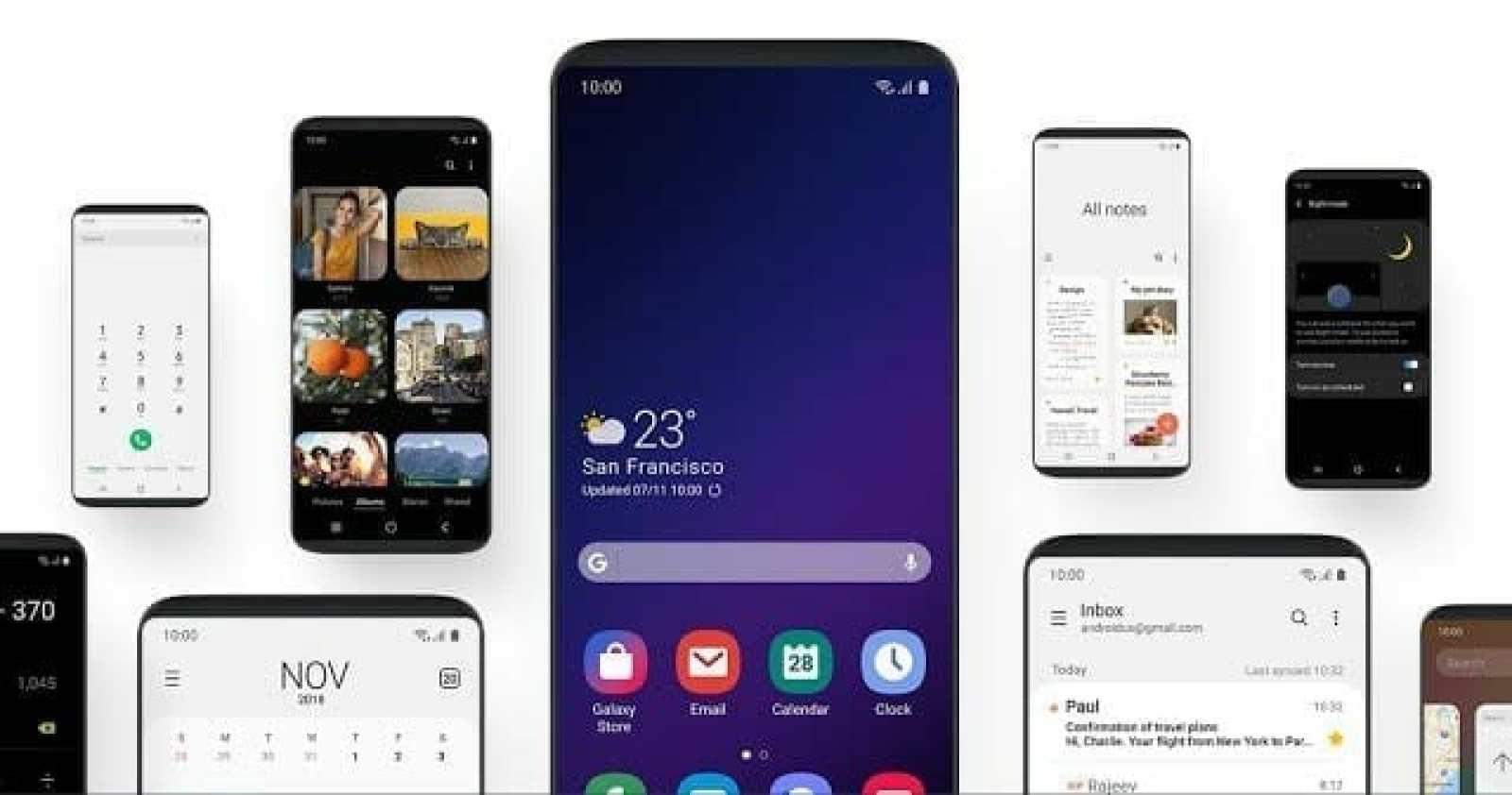 - Screenshot 4 5 - Samsung เปิดตัวส่วนติดต่อผู้ใช้ใหม่ในชื่อ One UI ใช้งานมือถือจอใหญ่ได้สะดวกขึ้น มีโหมดใช้งานตอนกลางคืน