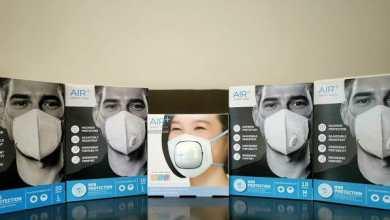 - รีวิว AIR+ Smart Mask หน้ากากอนามัย N95 พร้อมปั๊มลมระบายอากาศ AIR+ Micro Ventilator