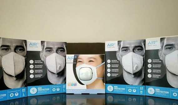 - air2B - รีวิว AIR+ Smart Mask หน้ากากอนามัย N95 พร้อมปั๊มลมระบายอากาศ AIR+ Micro Ventilator