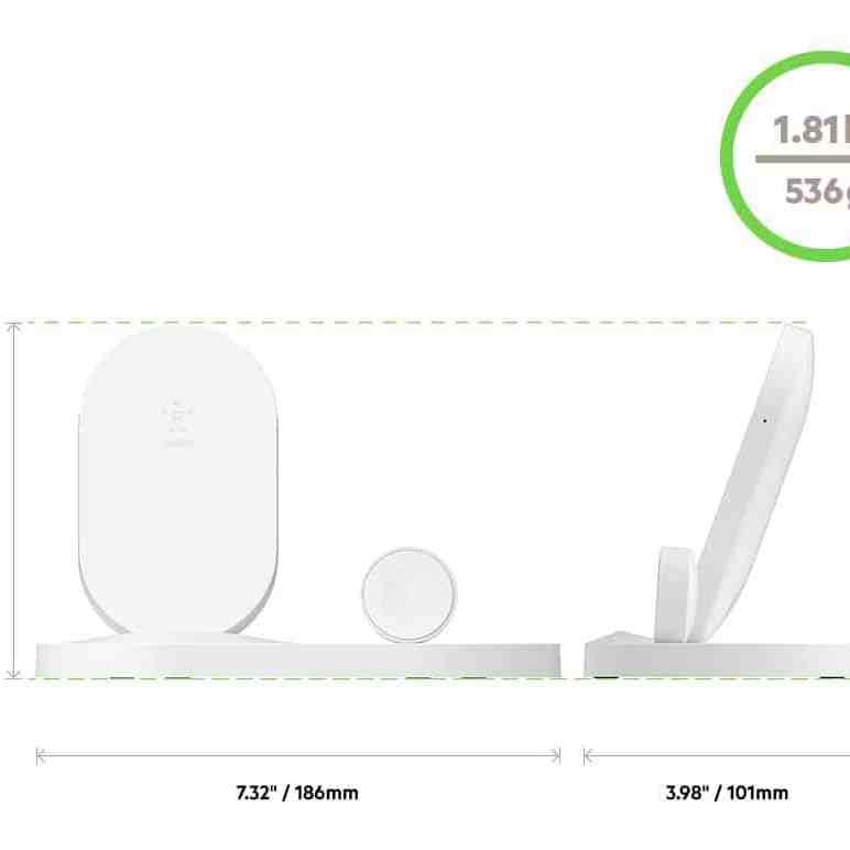 - Belkin เปิดตัวแท่นชาร์จไร้สาย BOOST↑UP แบบ 3 in 1 ได้ทั้ง iPhone, Watch และช่อง USB-A