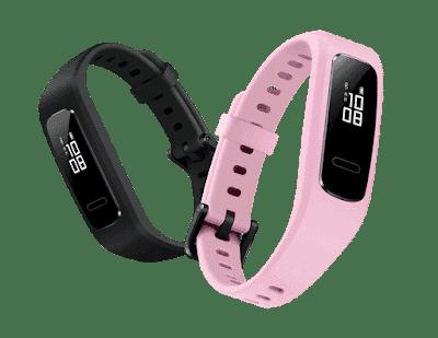 - HUAWEIBand3e28Black26Pink29 - HUAWEI เปิดตัว Band 3 Pro และ Band 3e Fitness Tracker ในประเทศไทยอย่างเป็นทางการ ตอบโจทย์กลุ่มคนรักสุขภาพและชอบออกกำลังกาย
