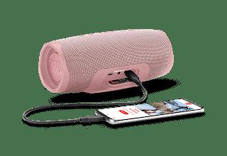 - JBL Charge4 Phone DustyPink 1605x1605px - JBL เปิดตัวลำโพง Charge 4 รุ่นใหม่ ฟังก์ชั่นมากขึ้นในราคาเท่าเดิม