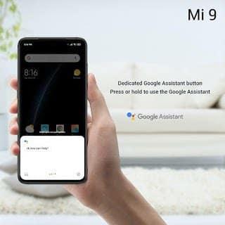 - Xiaomi Mi 9 Google Assistant - Xiaomi เปิดตัว Mi9 สเปกจัดเต็ม กล้อง 3 ตัวคะแนน DxOMark 107 ในราคาเอื้อมถึง