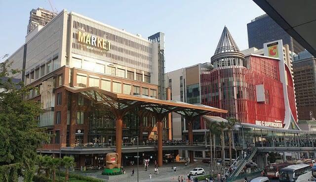 """- the market bangkok 2 - พาไปชิม """"สีฟ้า"""" สาขาใหม่ The Market พร้อมโปรเปิดร้าน ข้าวหน้าไก่ราชวงศ์ไข่ดาว+ขนมจีบเพียง 100 บาท"""
