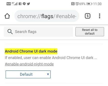 - วิธีเปิด Dark mode ที่ซ่อนอยู่ใน Chrome สำหรับ Android