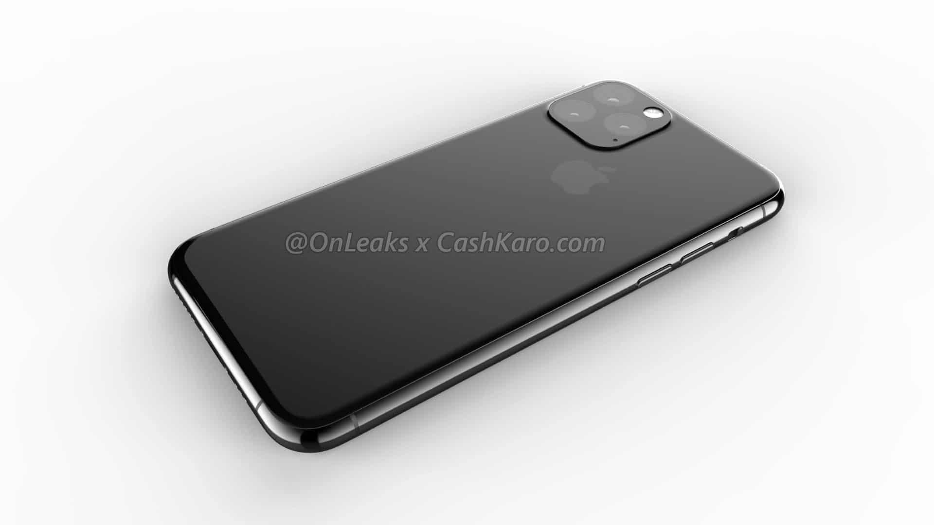 เผยภาพเรนเดอร์ iPhone XI ด้านหน้าเหมือนเดิม ด้านหลังใช้กล้อง 3 ตัว 4