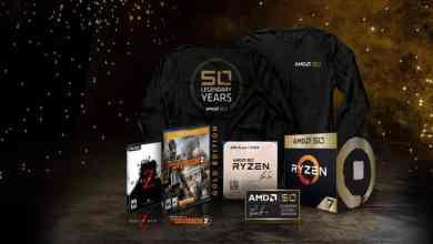 - AMD เฉลิมฉลองครบรอบ 50 ปี เปิดตัวชิปประมวลผล AMD Ryzen 7 2700X และกราฟิกการ์ด AMD Radeon VII ชุด 'Gold Edition สุดพรีเมียม