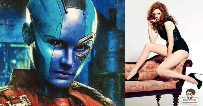 - BACcover Recovered Recovered - Karen Gillian สาวสุดแซ่บในบท Nebula จาก Guardians of The Galaxy