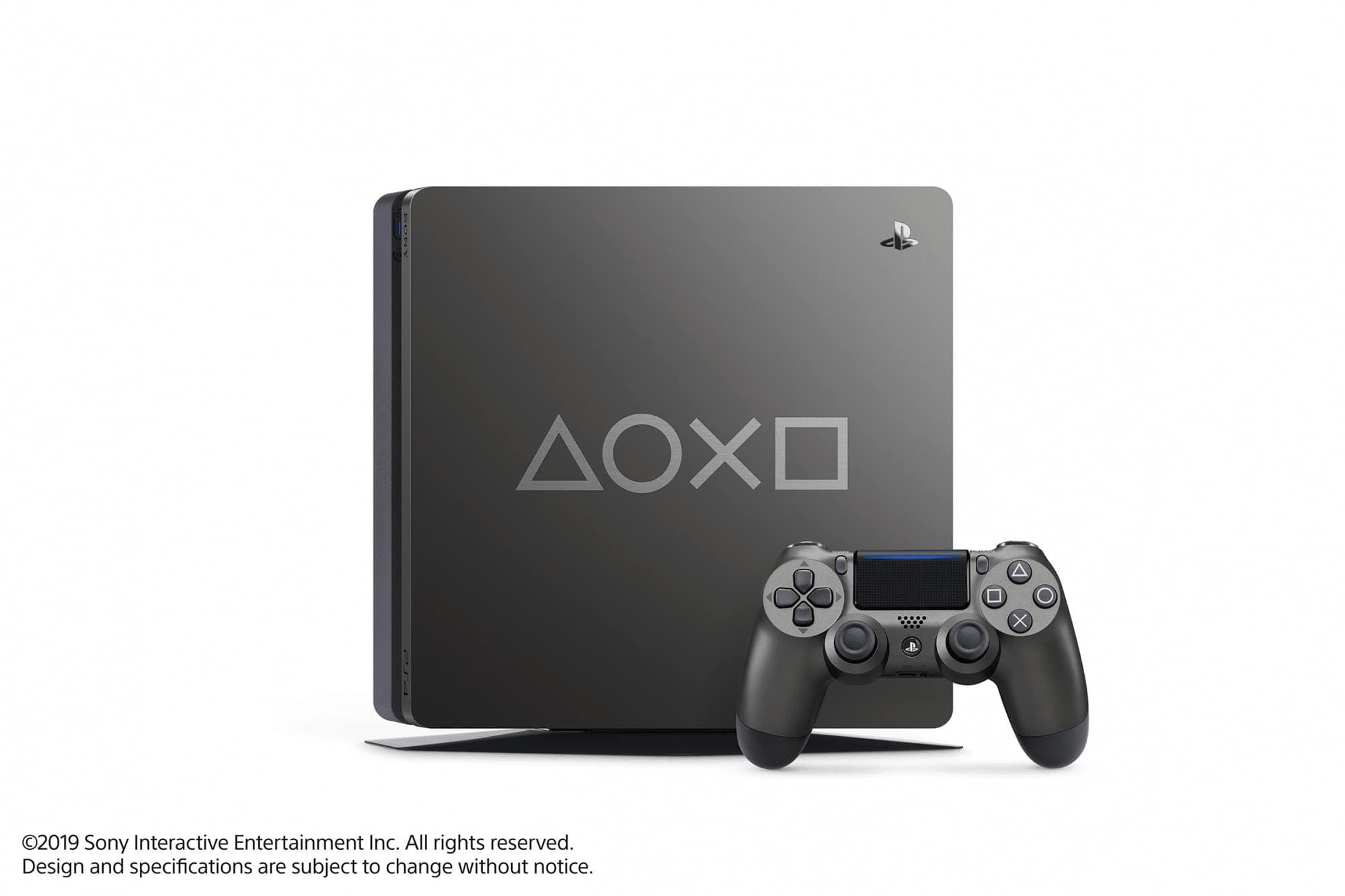 Sony เปิดตัว PS4 รุ่นพิเศษ DAYS OF PLAY LIMITED EDITION 2019 2