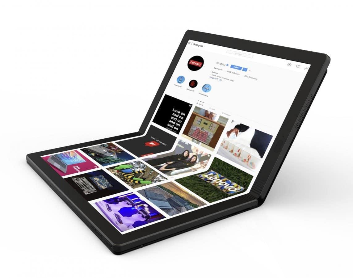 - มาแล้ว โน๊ตบุ้ค Windows จอพับได้จาก Lenovo ขายจริง 2020