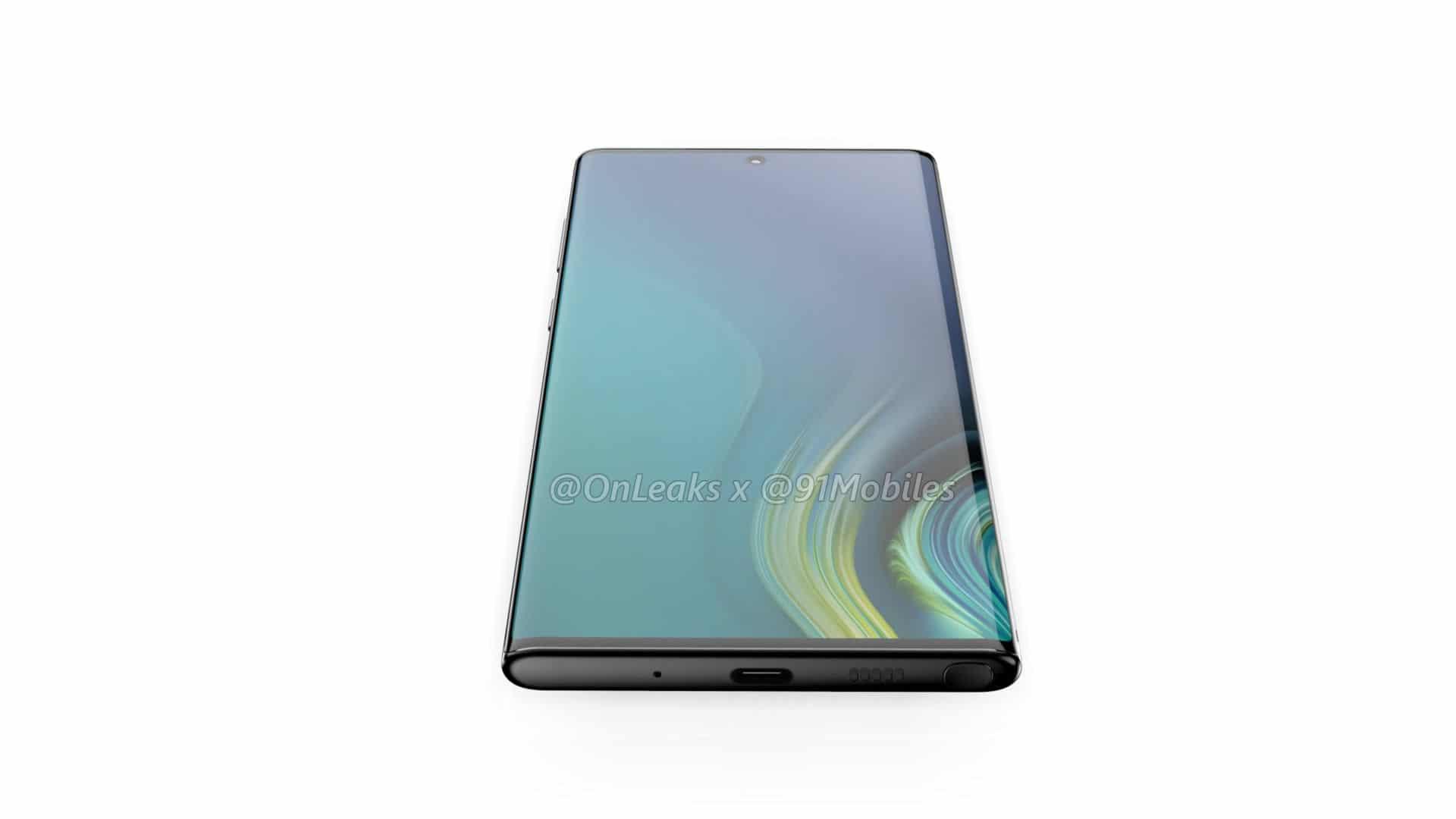 หลุดข้อมูล Samsung Galaxy Note 10 ย้ายกล้องหลังไว้ด้านข้าง แล้วย้ายกล้องหน้ามาตรงกลาง 4