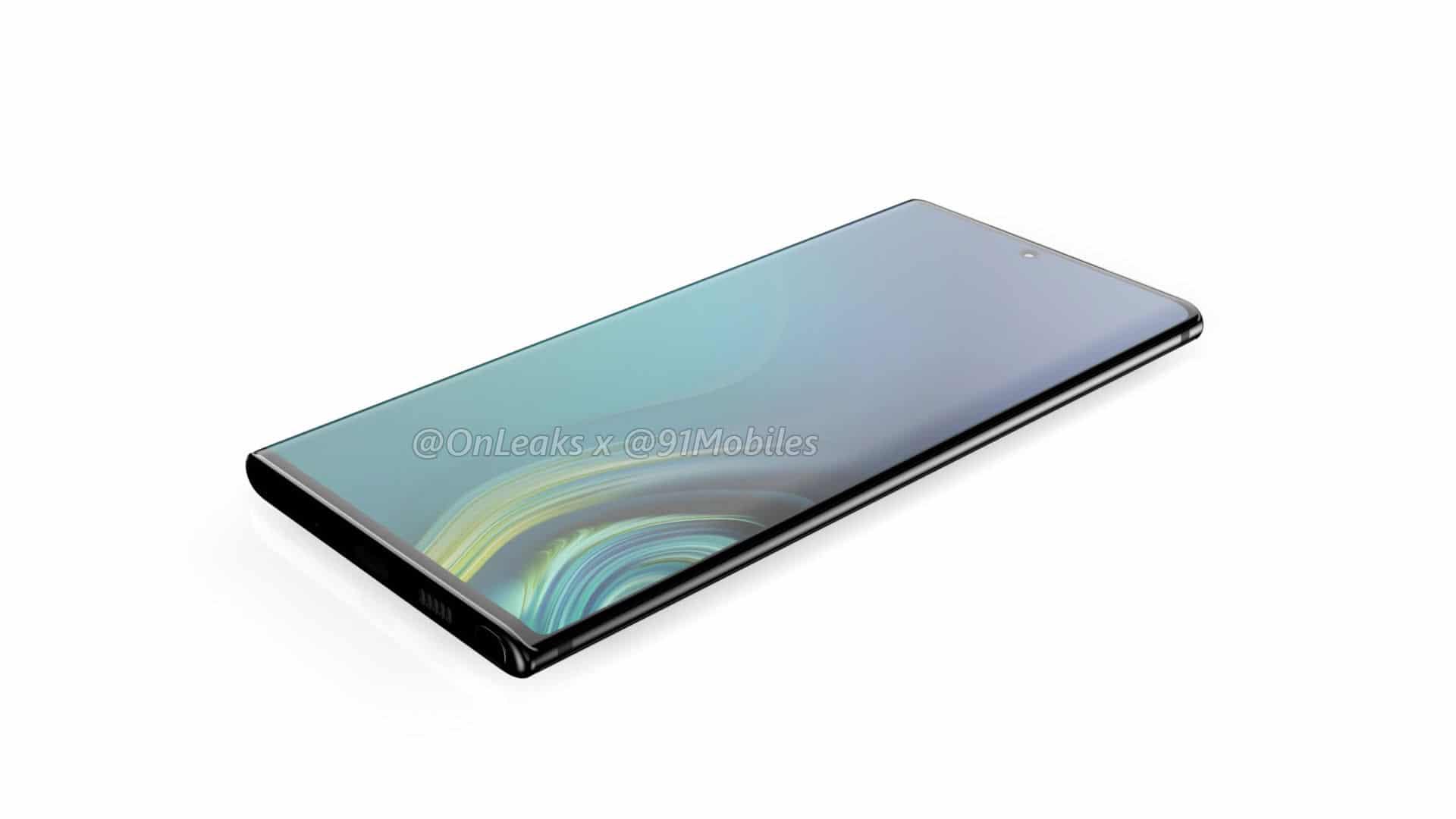 หลุดข้อมูล Samsung Galaxy Note 10 ย้ายกล้องหลังไว้ด้านข้าง แล้วย้ายกล้องหน้ามาตรงกลาง 5