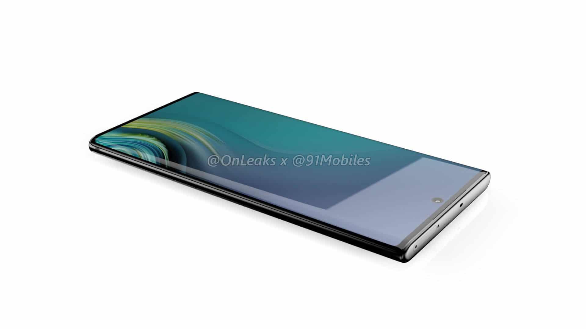 หลุดข้อมูล Samsung Galaxy Note 10 ย้ายกล้องหลังไว้ด้านข้าง แล้วย้ายกล้องหน้ามาตรงกลาง 6