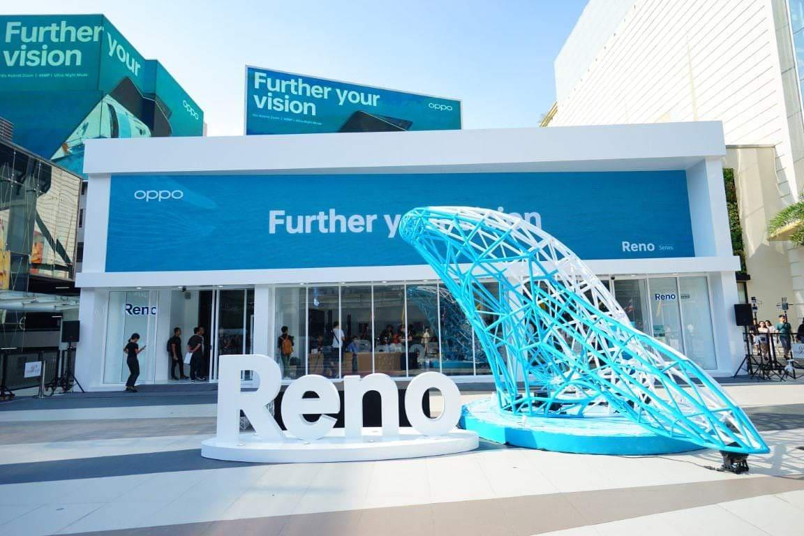 - OPPO เปิด RenoVision งานครีเอทีฟที่ผสานศิลป์และเทคโนโลยีเข้าด้วยกัน