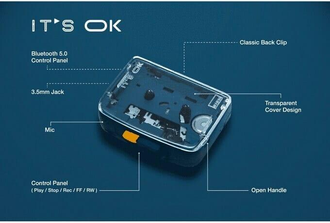 - ความคลาสสิกเจอเทคโนโลยี เครื่องเล่นคาสเซ็ตรองรับ Bluetooth