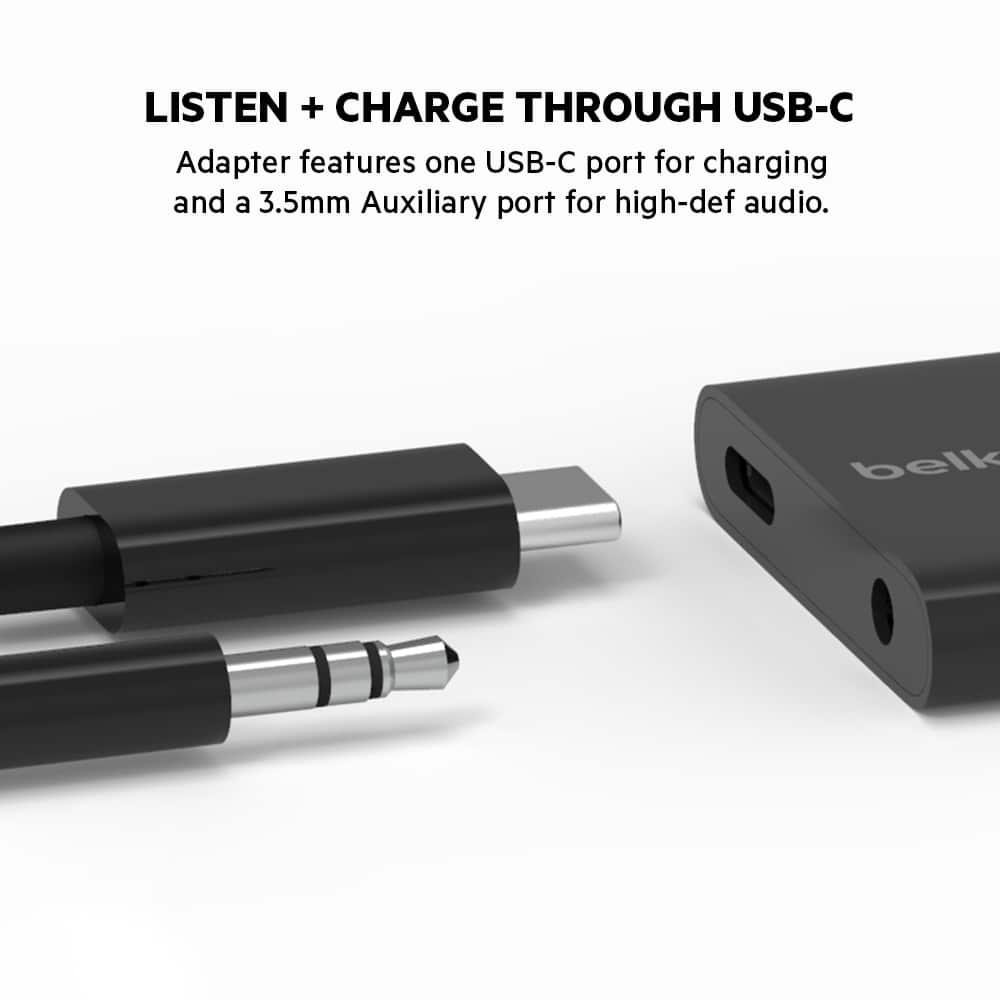 เปิดตัว Belkin RockStar 3.5mm Audio + USB-C Charge Adapter ชาร์จไฟและฟังเพลงไปพร้อมกันแบบคุณภาพสูง 3