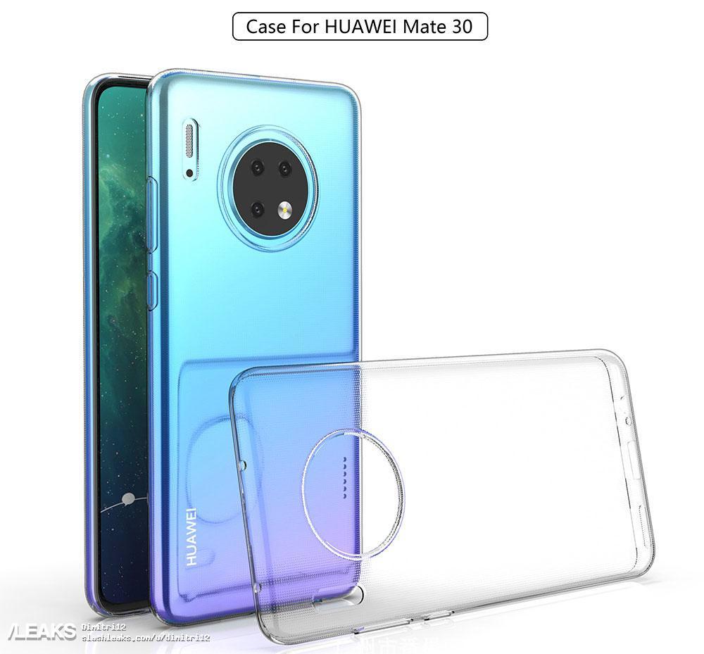 - ดูกันชัดๆ ภาพ HUAWEI Mate 30/30 Pro จากผู้ผลิตเคส
